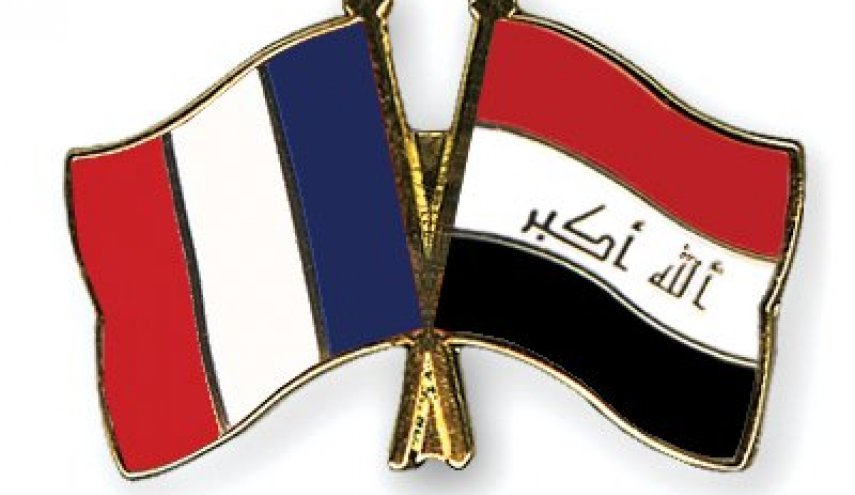 French foreign minister, defence minister arrive in Baghdad