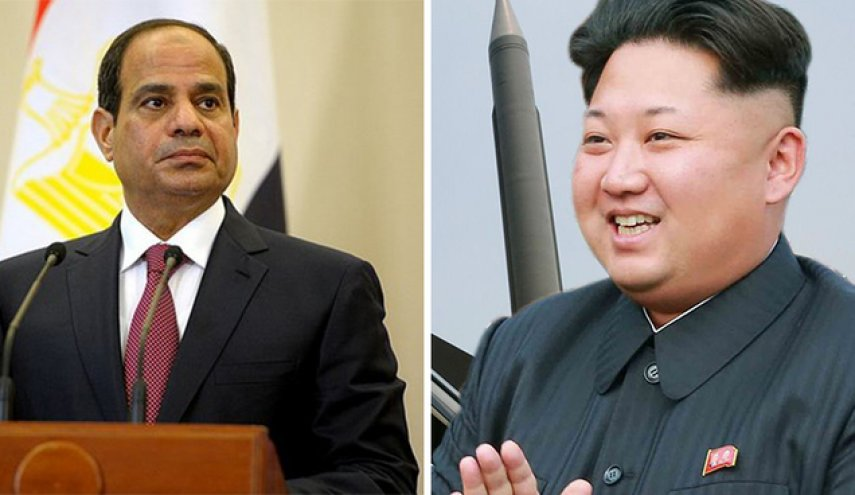 Egypt cuts military ties with North Korea