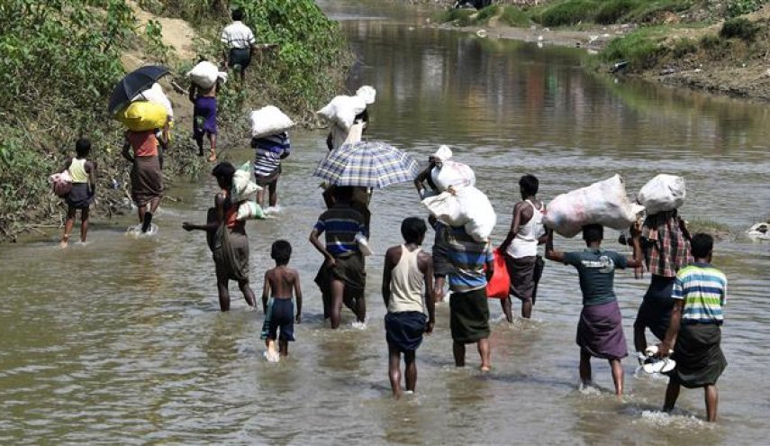 Iran's aid for Rohingyas reaches Bangladesh border with Myanmar