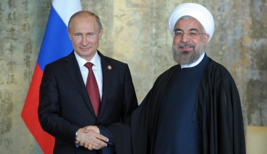 Iranian, Russian Presidents discuss regional issues