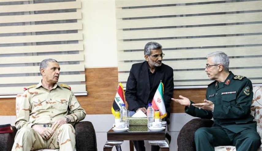 Top military officials of Iran, Iraq hold talks amid Kurdish independence vote