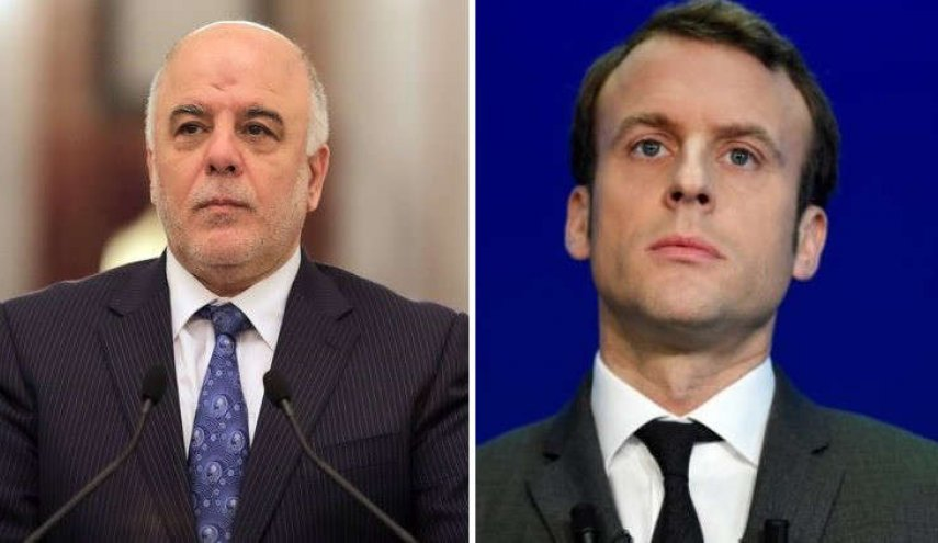 Macron's invitation to visit France not related to Kurdish referendum - Iraqi PM