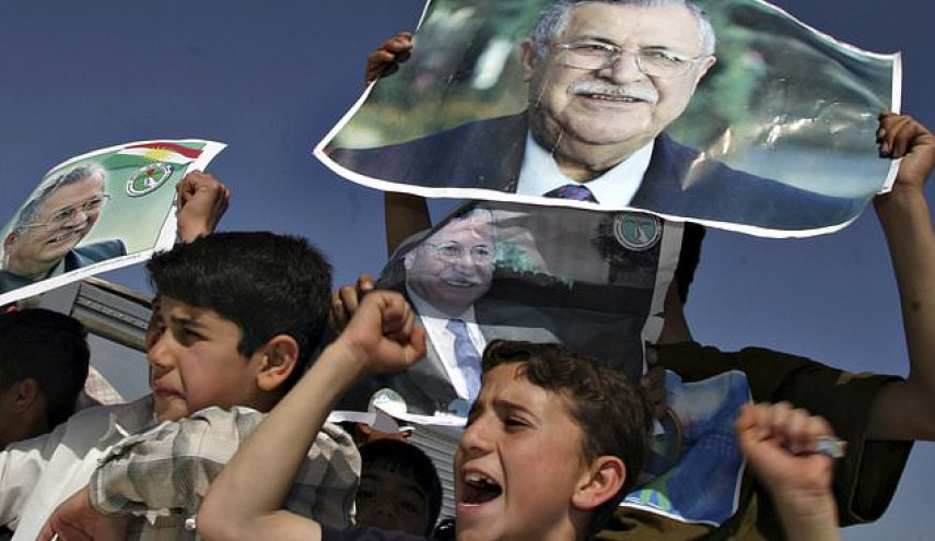 Iraqi Kurds mourn death of leader Talabani, symbol of unity