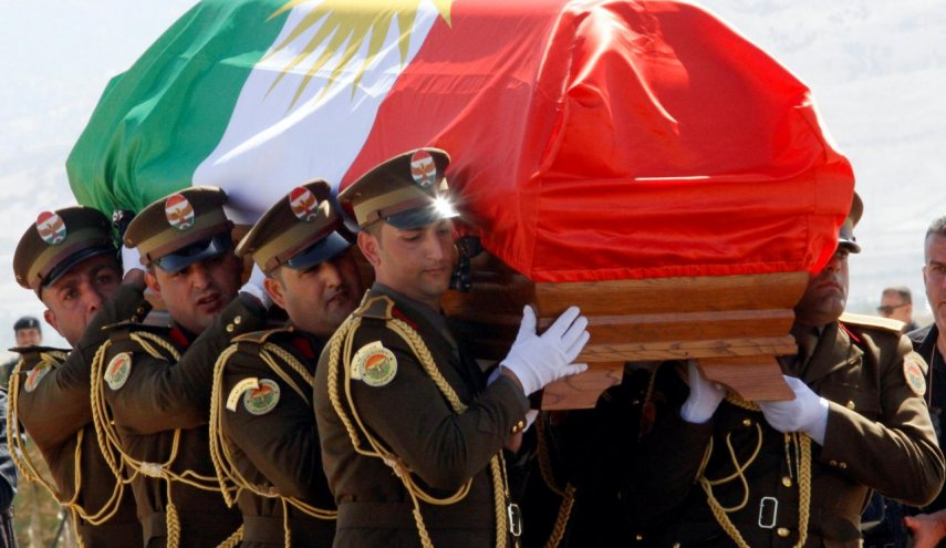 Iraq's ex-President Talabani buried in Kurdish region