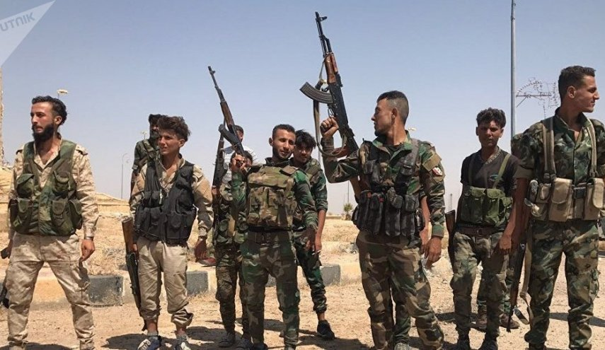 Syrian Army encircles Daesh terrorists in Mayadin