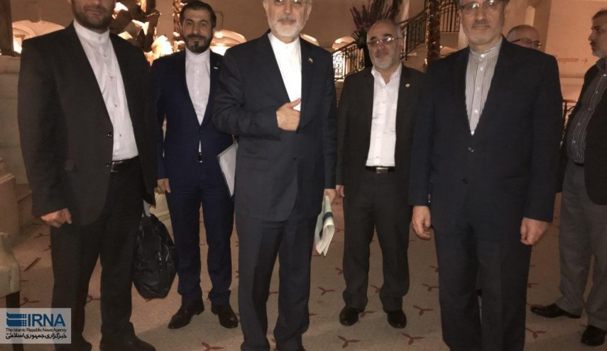 Iran nuclear chief arrives in London
