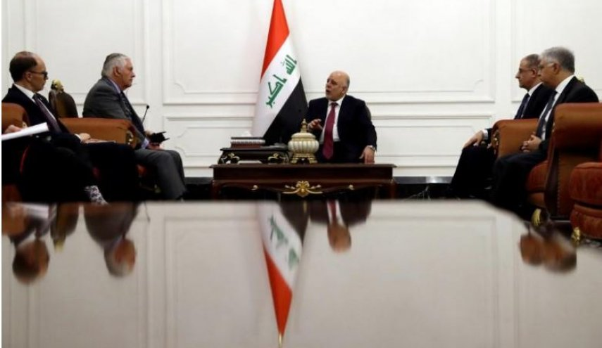 Abadi defends role of Popular Mobilisation Forces at meeting with Tillerson