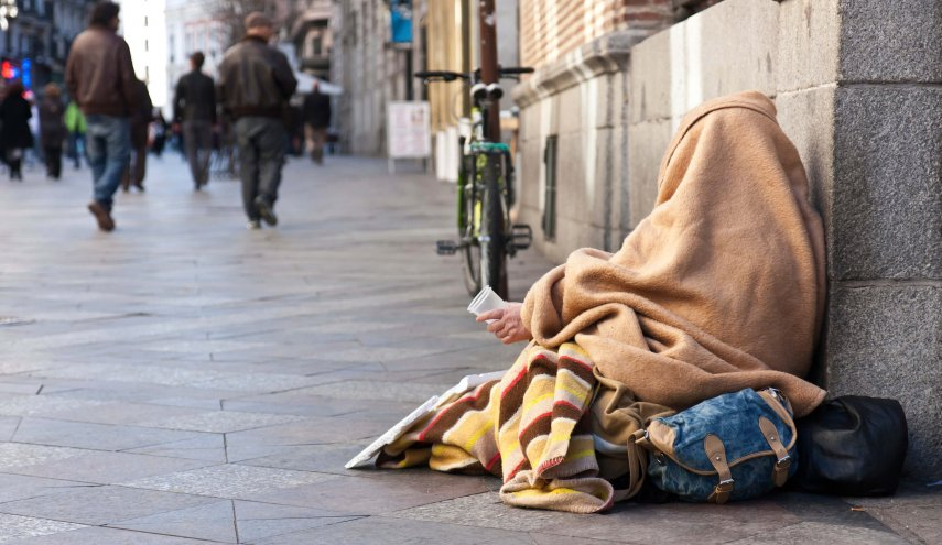 Numbers of British homeless greater than population of Newcastle, says Shelter