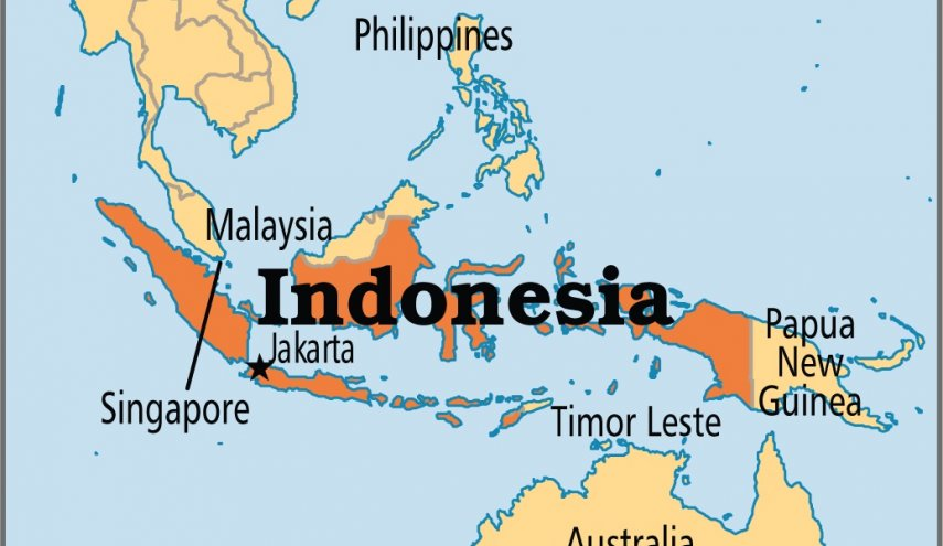Suspected Indonesian radicals burn down police complex