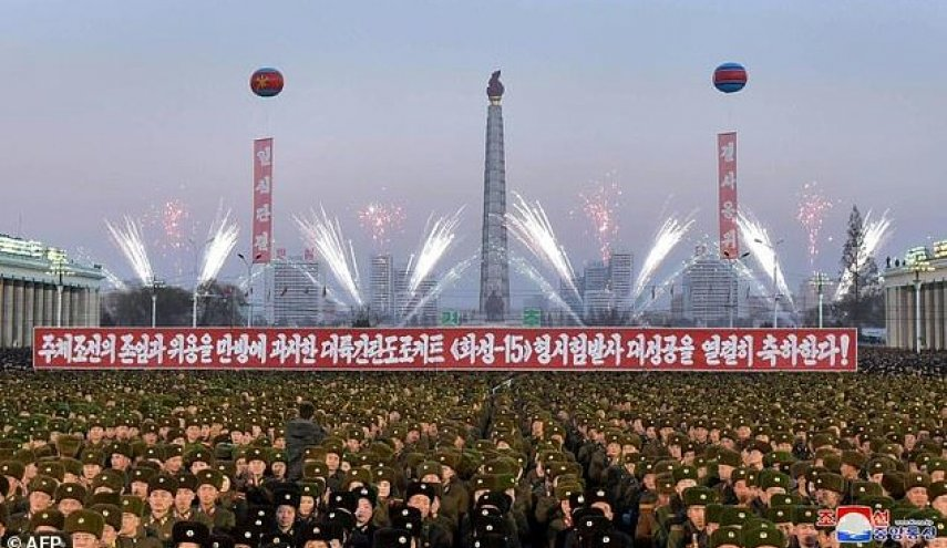 North Korea holds mass celebrations for latest missile test