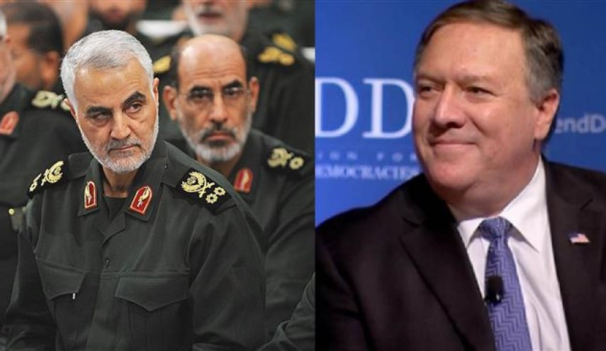 Pompeo claims he 'sent a note' to warn Iran's Soleimani over Iraq