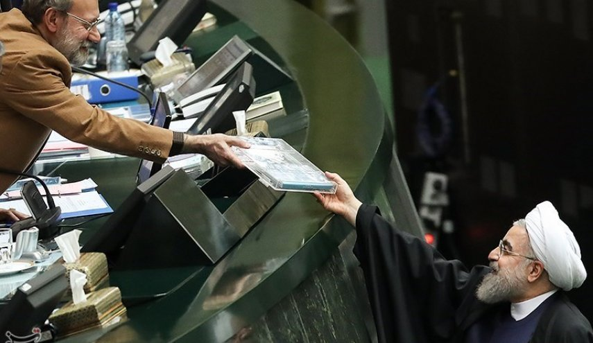 Iran President Submits Budget Blueprint to Parliament
