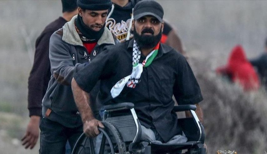 'This land is ours', last words of disabled Palestinian