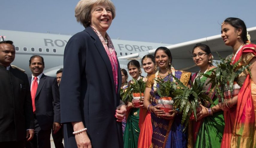 Britain falls another place in world economic rankings to seventh as India soars