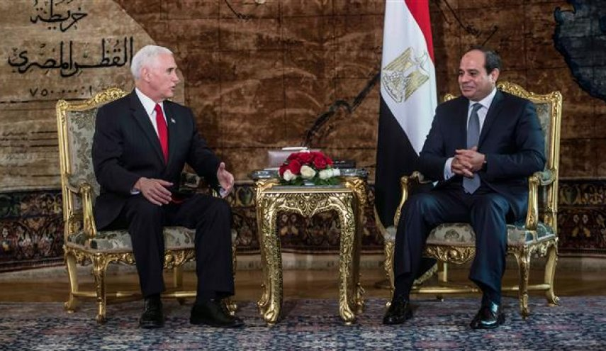US' Pence arrives in Middle East after al-Quds recognition