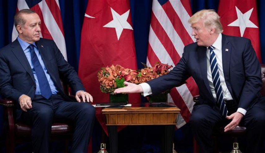 Trump urges Erdogan not to 'risk conflict' with US forces in Syria