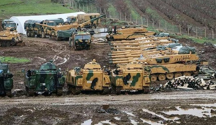 Military operation underway by Turkish Army, allied militants in Northern Syria (Photos)