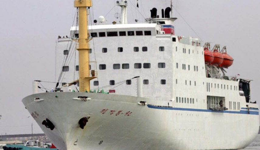 North Korean Olympics ferry tacks past sanctions with karaoke, ice cream on board
