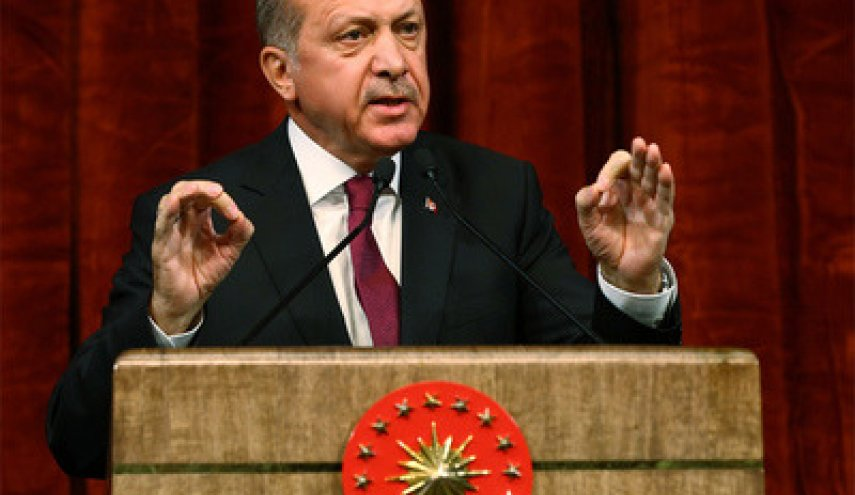 Erdogan says U.S. has