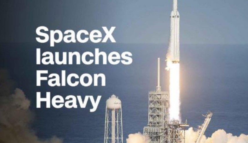 SpaceX launches Falcon Heavy, the world's most powerful rocket