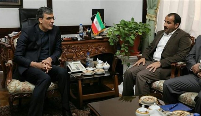 Iran, Ansarullah discuss political, humanitarian situation in Yemen