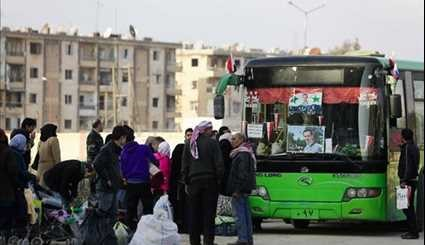 Syrian People Gradually Returning to Liberated Neighborhoods in Eastern Aleppo