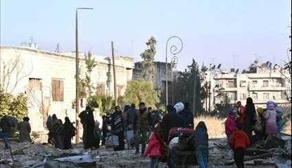 Syria Continues Evacuating Civilians from Eastern Aleppo