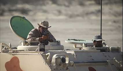 Army's Massive Military Drills in Iran's Southeast