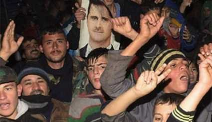 Syrians Celebrate Army's Imminent Victory in Aleppo