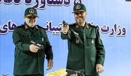 Iran Displays New Military Products, Rocket