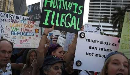 Anti Trump Demonstrators Rally across US for Third Weekend in a Row