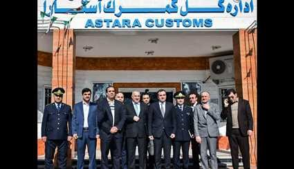 Joint meeting of Iran, Azerbaijan customs