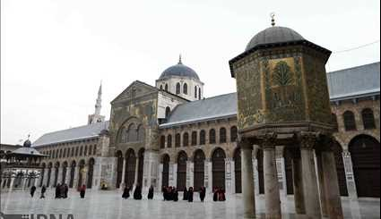 The Omayyad Mosque in Damascus