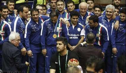 Iran ranks 1st in Freestyle World Wrestling Cup
