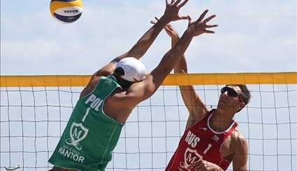 Russia wins Kish Beach Volleyball World Tour