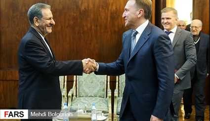First VP meets Russia's First deputy PM
