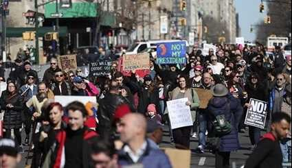 'Not My Presidents Day' Protests across USA
