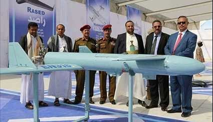 Yemeni Army Unveils Four Home-Made Drones