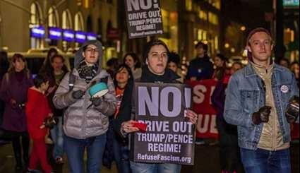 Anti-Trump Protests Continues in US, Canada