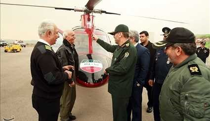 Iran Unveils 'Saba 248' Helicopter