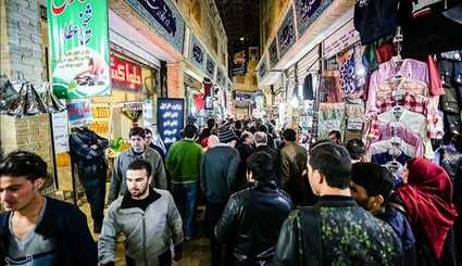Old Bazaar in North Tehran Swarms with Customers ahead of Nowruz
