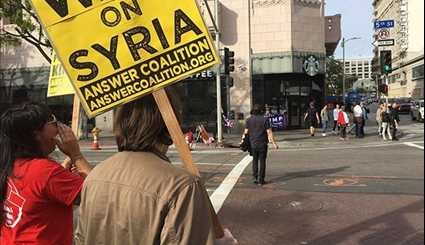 'Emergency' Protests across US Demand 'Hands off Syria'