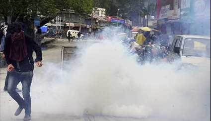 Clashes Hit Indian-Controlled Kashmir