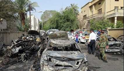 15 Killed or Wounded in Car Bomb Attack in Baghdad