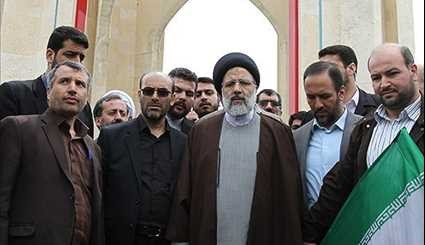 Iranian Presidential Hopeful Raisi Continues Campaign Trail in Hamedan