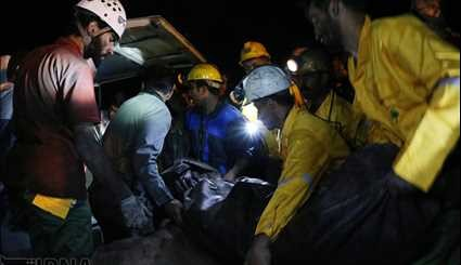 Seven more bodies of Iranian trapped miners found