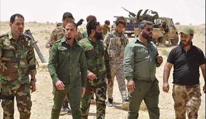 Iraqi Popular Forces on Way to Syria-Iraq Border Region