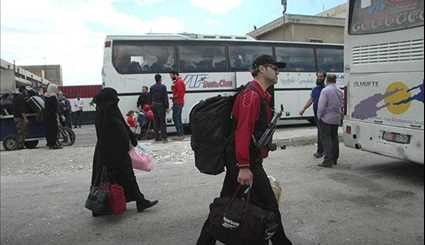 Tens of Gunmen, Family Members Leave Homs for Northern, Northwestern Syria