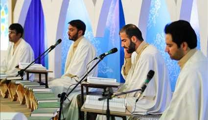 Quran recitation sessions in Tabriz