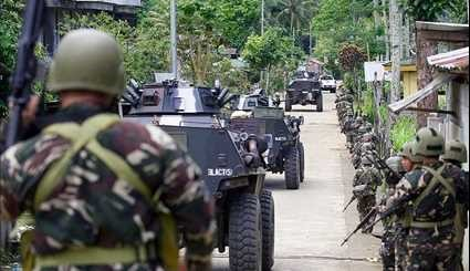 Philippines' Troops Push against ISIL in Marawi City